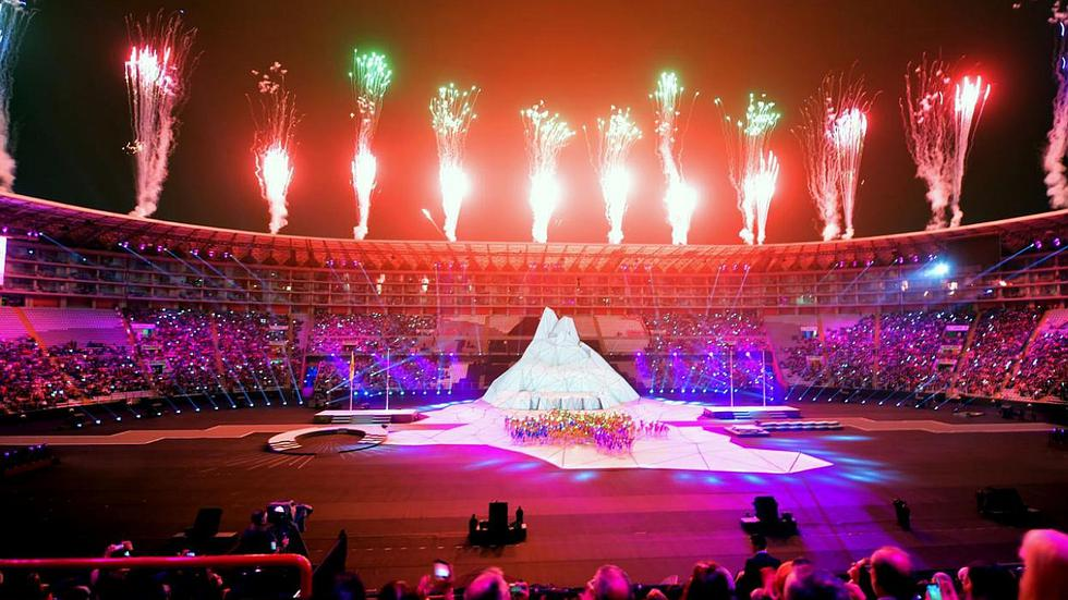 Las mejores instantáneas de la inauguración de los Juegos Panamericanos Lima 2019