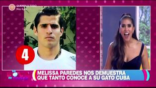 Melissa Paredes confunde a su esposo Rodrigo Cuba con Aldo Corzo (VIDEO)
