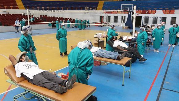 Arequipa: 70 voluntarios no donan sangre por dar positivo a COVID-19 o presentar otros males en campaña médica