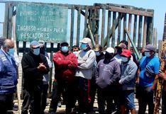 Marina de Guerra ordena cierre de muelle pero municipio y pescadores no acatan