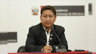 Así fue el último día de Guido Bellido como jefe de la Presidencia del Consejo de Ministros