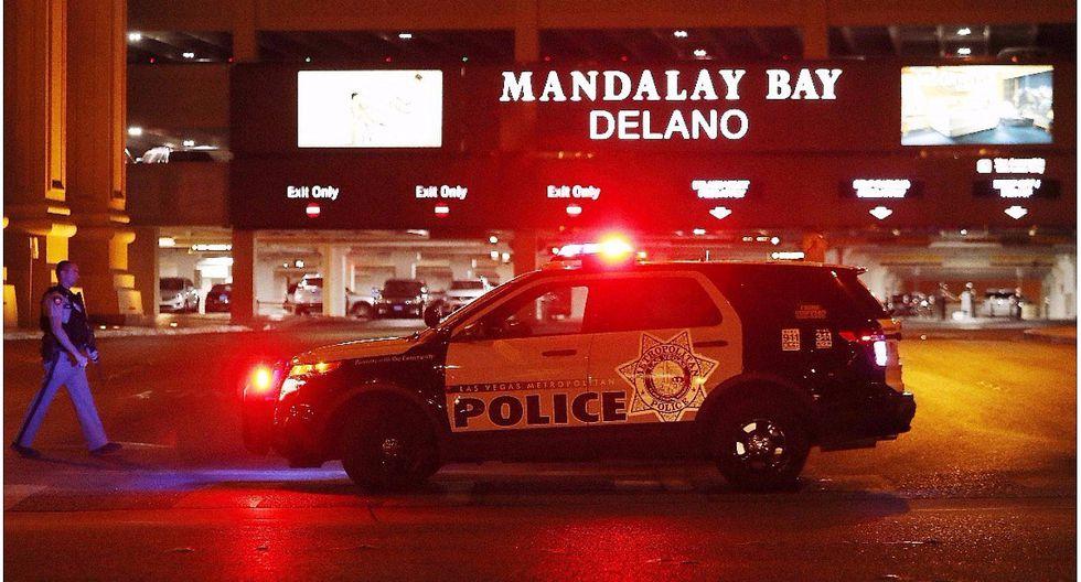 Diálogo de la policía al ingresar a la habitación del autor del tiroteo en Las Vegas (AUDIO)