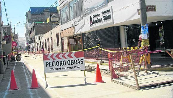 Advierten riesgos en dos obras por embargo de S/798 mil de la Municipalidad de Tacna