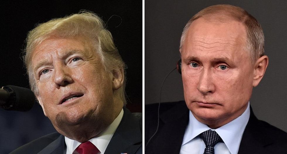 Anuncian posible reunión entre Donald Trump y Vladimir Putin en París