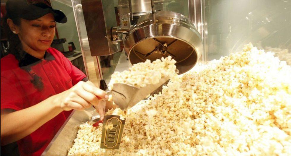 Aspec: Canchita que venden en los cines no tienen registro sanitario