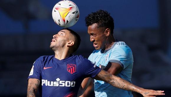 Celta de Vigo reveló algunos detalles de la lesión de Renato Tapia. (Foto: EFE)