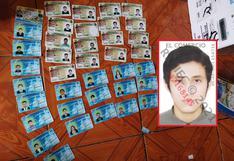 Hallan más de 280 licencias de conducir falsificadas en una vivienda de Ayacucho