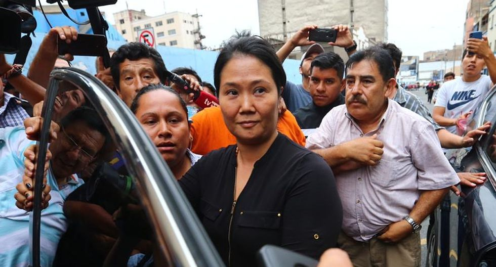 Juez dicta 15 meses de prisión preventiva contra Keiko Fujimori. (Fotos: Hugo Curotto/GEC)