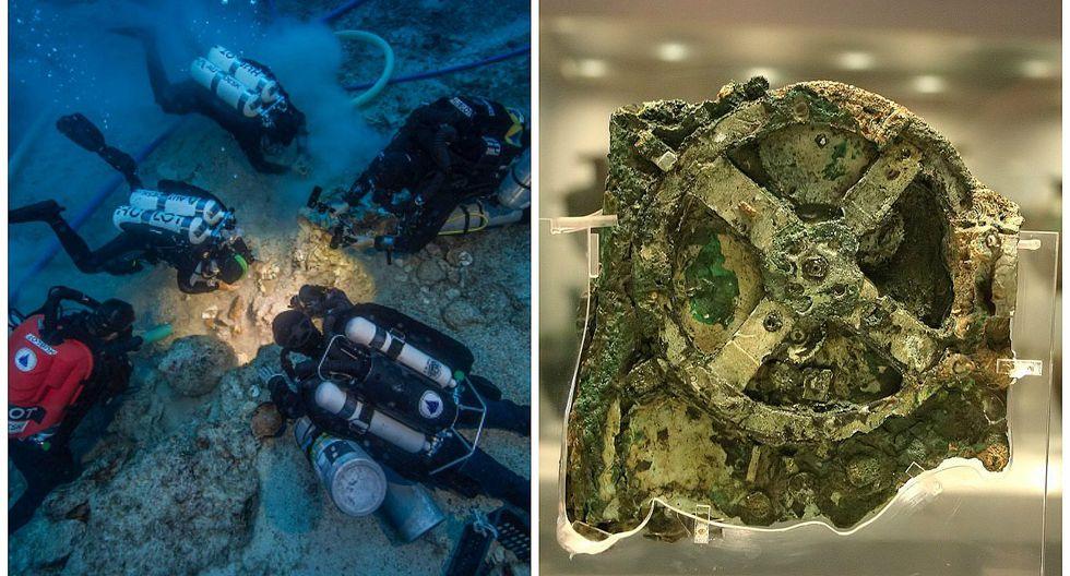 Mecanismo de Anticitera: Hallan restos humanos en barco que contenía antiguo artilugio (VIDEO)