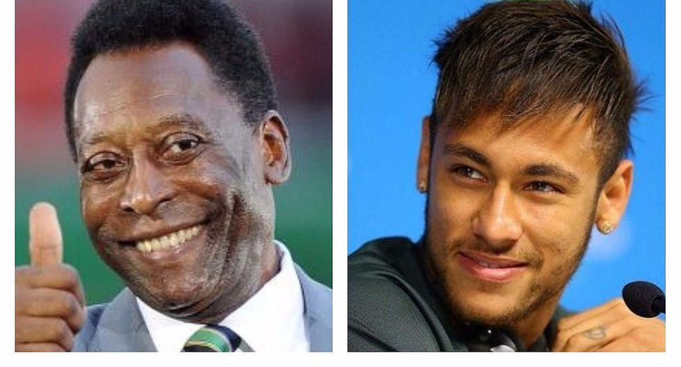 Pelé y su mensaje de felicitación para Neymar por su fichaje en el PSG [FOTO]