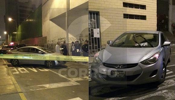 Delincuentes acribillan a taxista para robarle su auto (FOTOS Y VIDEO)