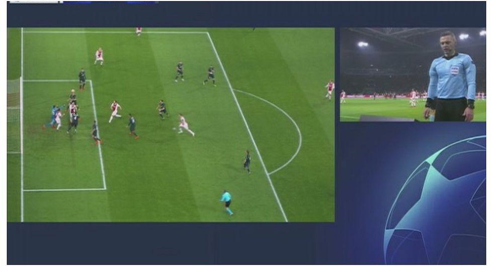 Ajax vs Real Madrid: el gol que el VAR le anuló al conjunto holandés (VIDEO)