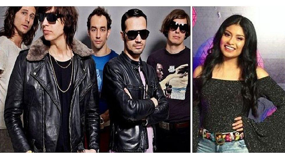 Vivo X el Rock: Wendy Sulca y Armonía 10 junto a The Strokes y Slipknot (VIDEO)