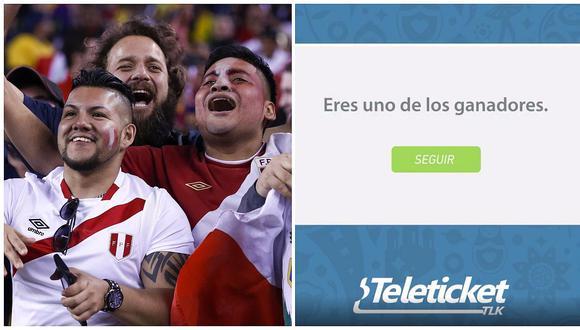 Perú vs Nueva Zelanda: Conoce aquí si ganaste en el sorteo de entradas de Teleticket