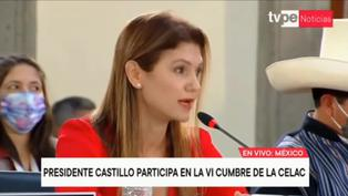 """Ministra de Relaciones Exteriores de Panamá en Cumbre CELAC: """"Habemos solo tres mujeres, aquí faltan más mujeres"""" (VIDEO)"""