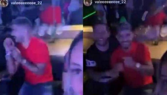 Éver Banega es visto en una discoteca sin mascarilla. (Video: Instagram)
