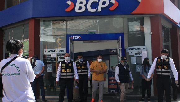 'Malditos de Chiclayo' junto a policías recrearon atraco a comerciante