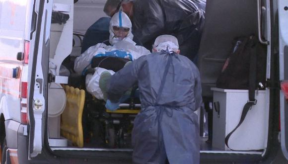 El Sistema Nacional de Emergencias (Sinae) de Uruguay informó que se reportó más de 3.300 casos de contagios y 40 muertes en las últimas 24 horas. (Foto: AFP)