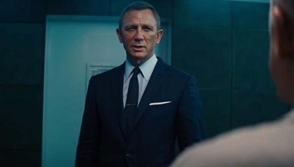 """""""No Time To Die"""" es la película con la que Daniel Craig se despide del Agente 007. (Foto. Captura)"""