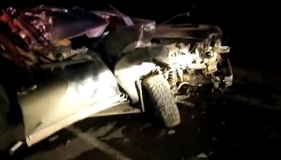 Las autoridades dijeron que todavía no determinaron las causas de este trágico accidente. (Foto: Difusión)