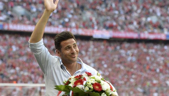 Claudio Pizarro anotó 125 goles en su dos periodos en Bayern Múnich. (Foto: AFP)