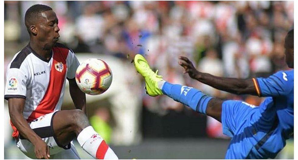 Luis Advíncula no pudo evitar derrota de Rayo Vallecano ante Getafe