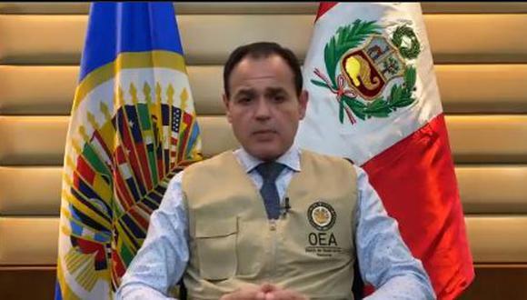 Así lo informó el jefe de la misión de observadores electorales, quien mantendrá reuniones con autoridades y actores políticos. (Foto: captura de video)