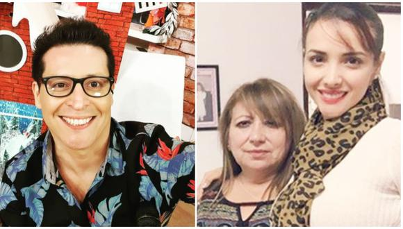 La madre de Rosángela Espinoza no fue ajena a los comentarios que hizo 'Carloncho' en su programa radial. (Fotos: Instagram)