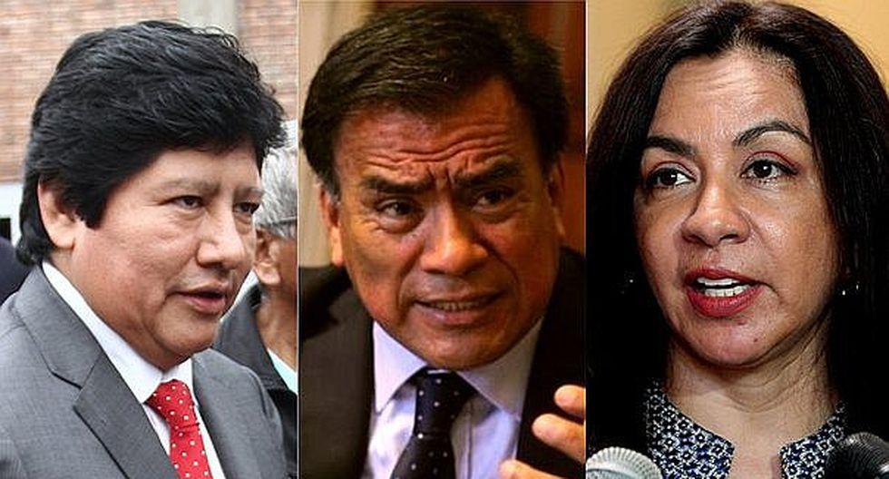 Marisol Espinoza y Velásquez Quesquén habrían recibido dinero para favorecer a Edwin Oviedo