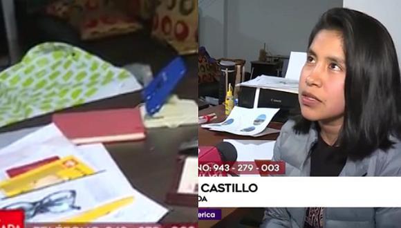 Ladrones se llevaron su tesis y ahora ella ofrece recompensa (VIDEO)