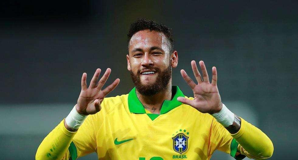 """Neymar responde a Zambrano luego que este lo llamó """"payaso"""": """"No llores, amigo"""""""