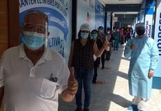 Huánuco: Inicia segunda fase de vacunación a la primera línea