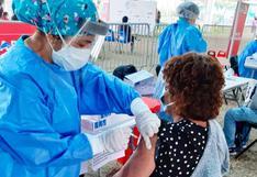 COVID-19: vacunación a personas de 40 años que estén programadas continuará desde hoy en Lima y Callao