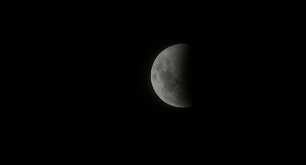Eclipse lunar 2019: Así se vio la Superluna de sangre en Lima   GALERÍA