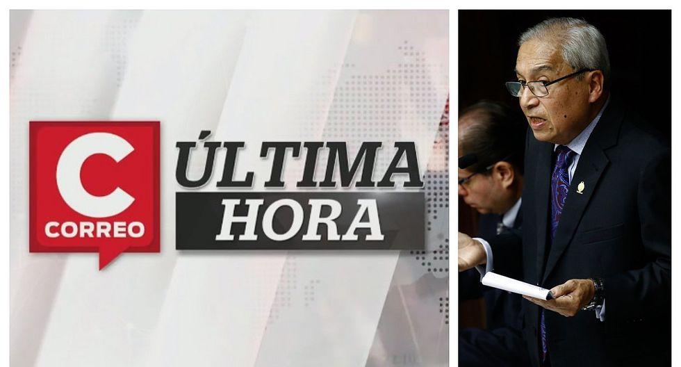 Correo Última Hora: Comisión Permanente rechazó recomendar destitución e inhabilitación de Pedro Chávarry