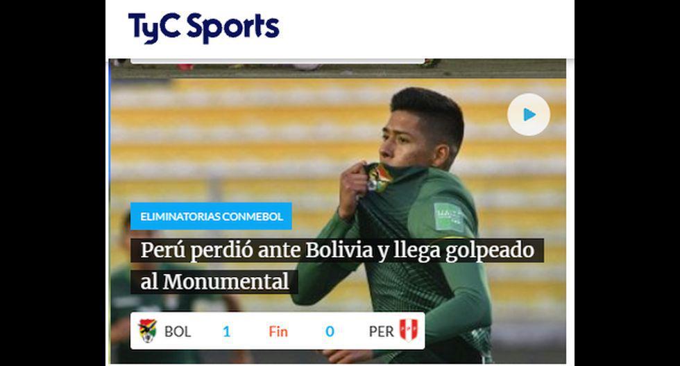 TyC Sports (Argentina).