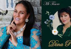 Dina Páucar anuncia que su álbum 'Mi tesoro' ya está en Spotify y Deezer