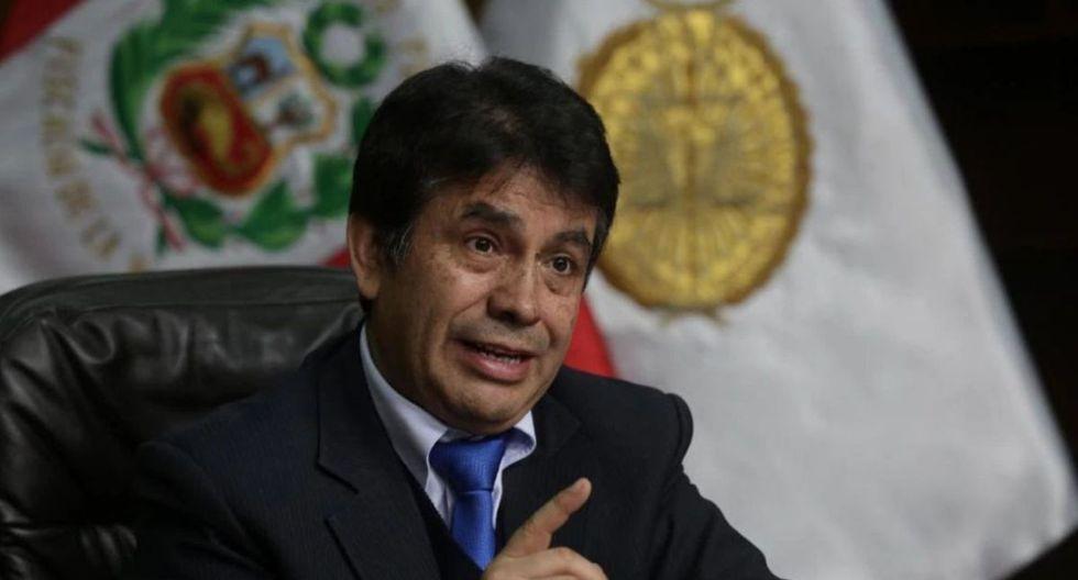 Fiscal supremo Tomás Gálvez es investigado por presuntamente integrar Los Cuellos Blancos del Puerto. (Foto: GEC)
