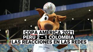 Copa América 2021: Perú 2 Colombia 1, las reacciones en redes sociales