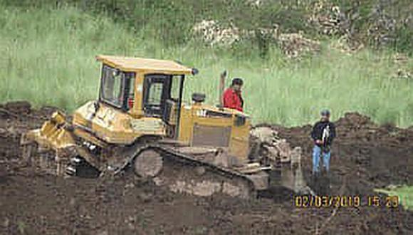Inician acciones legales por remoción de tierras en Sacsayhuamán