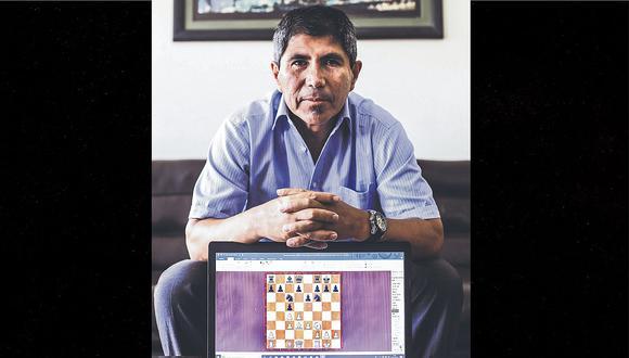 """Julio Granda: """"Yo aprendí a jugar ajedrez antes de leer y escribir"""""""