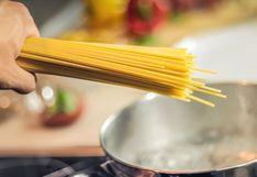 ¿En qué se puede usar el agua donde cocinaste la pasta?