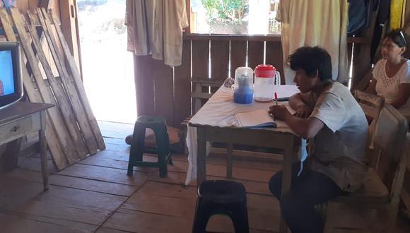 """""""Aprendo en casa"""" (Fotos: MINEDU)"""