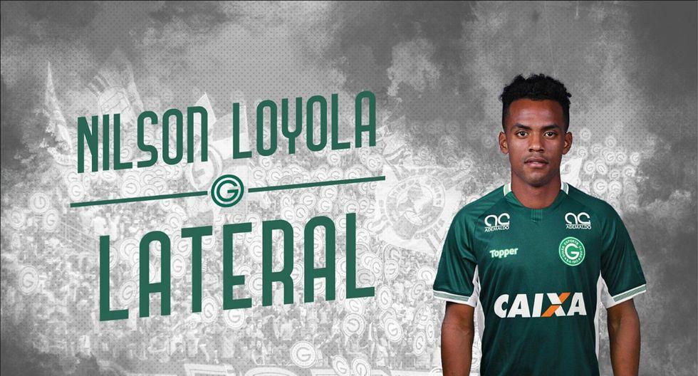 Es oficial: Nilson Loyola es el nuevo jugador del Goiás (FOTO)