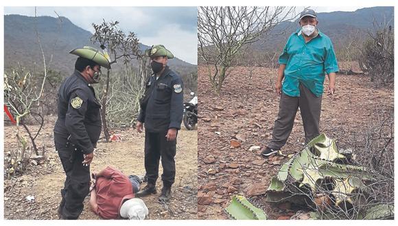 Detienen a tres personas cuando realizaban una demarcación en terrenos de la comunidad Santa Catalina Muchik.