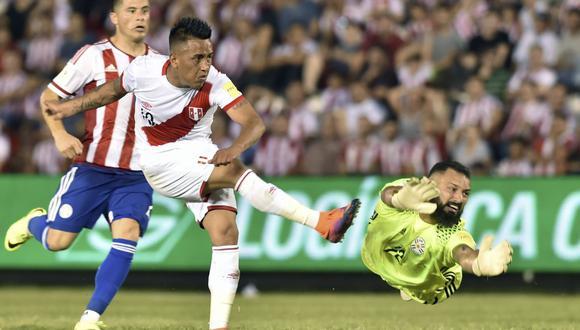 Christian Cueva registra 10 tantos en la 'era Gareca'. (Foto: AFP)