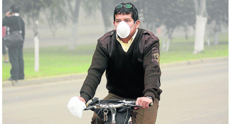 Peligroso aumento de partículas de polvo causa daño a la salud