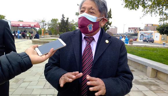 Roberto Supo Hallasi, rector de la UNJBG y vicepresidente de la Asociación Nacional de Universidades Públicas del Perú (ANUPP).