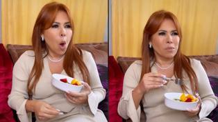 """Magaly Medina """"impactada"""" por declaraciones de Melissa Paredes en América Hoy (VIDEO)"""