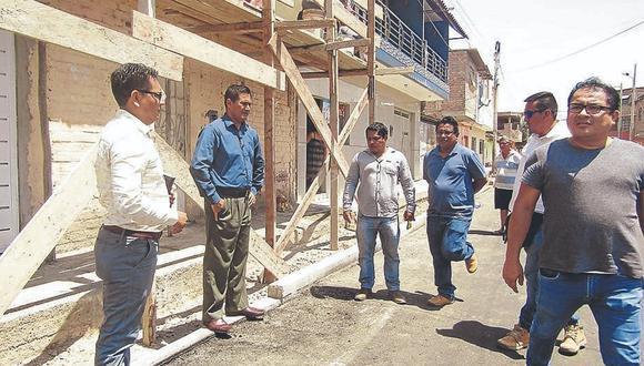 Inspeccionan obra de transitabilidad en Bellavista